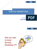 Services Marketing Share