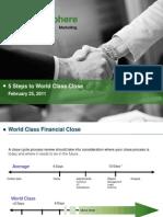 5 Steps for World Class Close