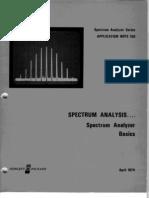 Spectrum Analysis - Spectrum Analyzer Basics