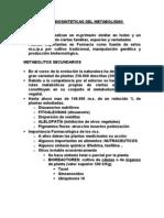 Bases Biosinteticas Del Metabolismo