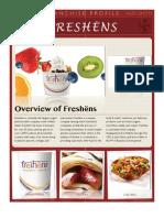 Franchise Profile- Freshëns