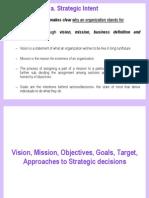 Strategic Management Module I