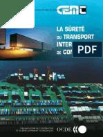 La Surete Du Transport Intermodal de Conteneurs