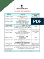 CALENDÁRIO ACADÊMICO UFRJ 2013-1