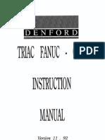 Triac Fanuc Om Instruction Manual