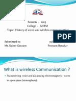 Wireless Nwppt