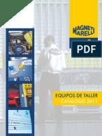 Equipos de Taller Catalogo 2011, MAGNETI MARELLI