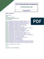 Mahendranath Gupta - Sri Sri Ramakrishna Kathamrita Volume III (301p)