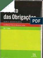Direito das Obrigações - Vol. III