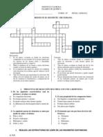 Examen Enlace Quimico 10 Fila 2