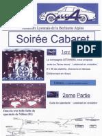 Soirée Cabaret Alba 21 Mars 2009