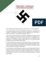 111 Principios Generales Del Nacionalsocialismo