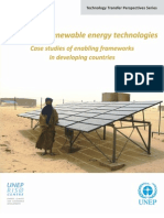 Diffusion Renewable Energy Technologies