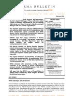 February 2009 Burma Bulletin