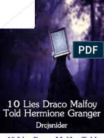 10 Lies Draco Malfoy Told Hermione Granger