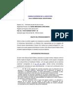 LA COMPETENCIA EN ACCIONES POPULARES SE DETERMINADA POR EL ORIGEN DE LA AFECTACIÓN DEL DERECHO COLECTIVO