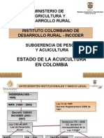 Acuicultura Colombia Ppt