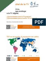 De la TV análoga a la TDT en Latinoamérica