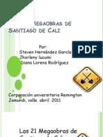Las 21 Megaobras de Santiago de Cali