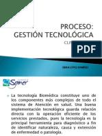 1. PROCESO GESTIÓN TECNOLÓGICA