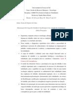 Idéias Principais Do Texto Mensuração Da Carga De Trabalho E A Saúde Do Trabalhador
