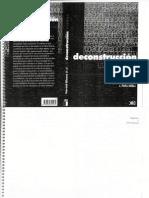 AAVV - La deconstrucción y crítica