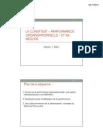 3. Le Construit _ Performance Organisationnelle _