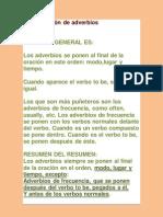 Adverbios en Ingles II