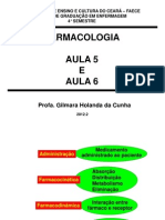 Aula 5 e 6 - Farmacologia - Profa Gilmara Holanda