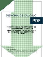 Memoria de Calculo Muquecc