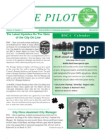 The Pilot -- March 2013 Issue