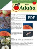 Dossier n15 - Le Carpocapse Des Pommes Et Des Poires