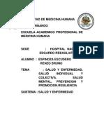 Salud y Enfermedad, Seminario, Conducta