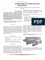 Control PID Digital Para Banda Transportadora