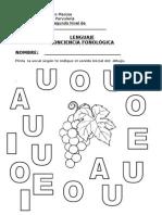 Guia Conciencia Fonologica Vocales u
