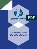 SurgimentoDaSociologia