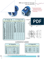 Electric Motor Flange Dimensions[1]