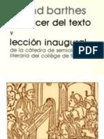 119589101-Roland Barthes - El Placer Del Texto