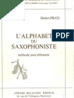 L´alphabet Du Saxophoniste