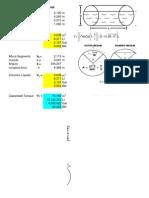 Calculo Volumen Tanque Horizontal