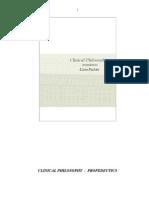 Clinical Philosophy - tradução de Geneci Bett