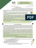 Ficha 1 La Quimica, Una Ciencia