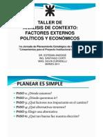 Taller Contexto Politicos Economicos