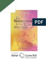 Daniel Meurois. Testamento  de las Tres Marias. Cap 9