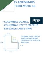 Casas Antisismos Columna Dual t y Cruz 5aaa