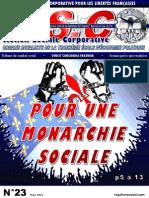 ASC N°23 - Pour une Monarchie sociale
