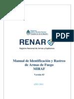 Manual de Rastreo e Identificación de Armas de Fuego (M.I.R.A.F.)