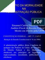 PRINCÍPIO DA MORALIDADE-Projeto Educação legal-23-07-2008