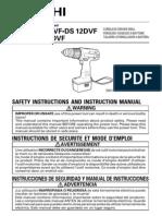 Hitachi Drill DS 14DVF