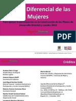 Agenda Diferencial de Mujeres Version Final Actualizada Oficial